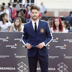 Luis Fernández en la gala de inauguración del Festival de Cine de Málaga 2016