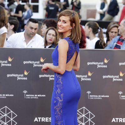 Silvia Alonso en la gala de inauguración del Festival de Cine de Málaga 2016