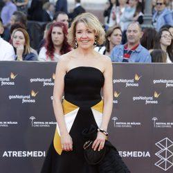 María Pujalte en la gala de inauguración del Festival de Cine de Málaga 2016