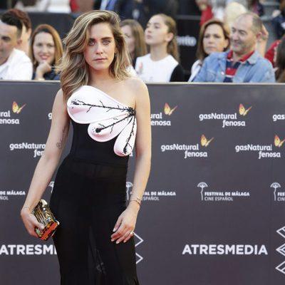 María León en la gala de inauguración del Festival de Cine de Málaga 2016