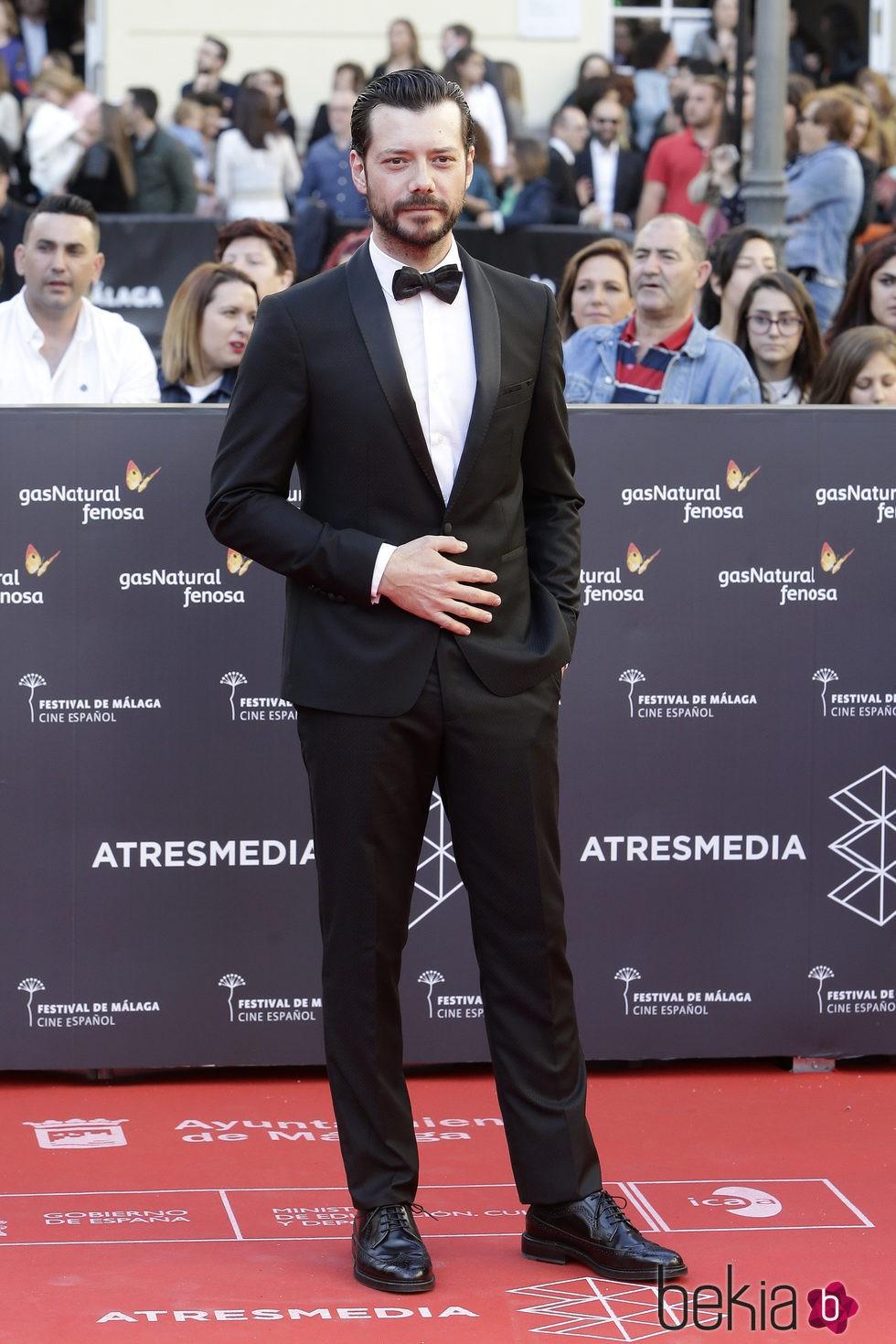 Álvaro Morte en la gala de inauguración del Festival de Cine de Málaga 2016