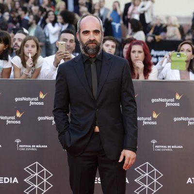 Luis Tosar en la gala de inauguración del Festival de Cine de Málaga 2016