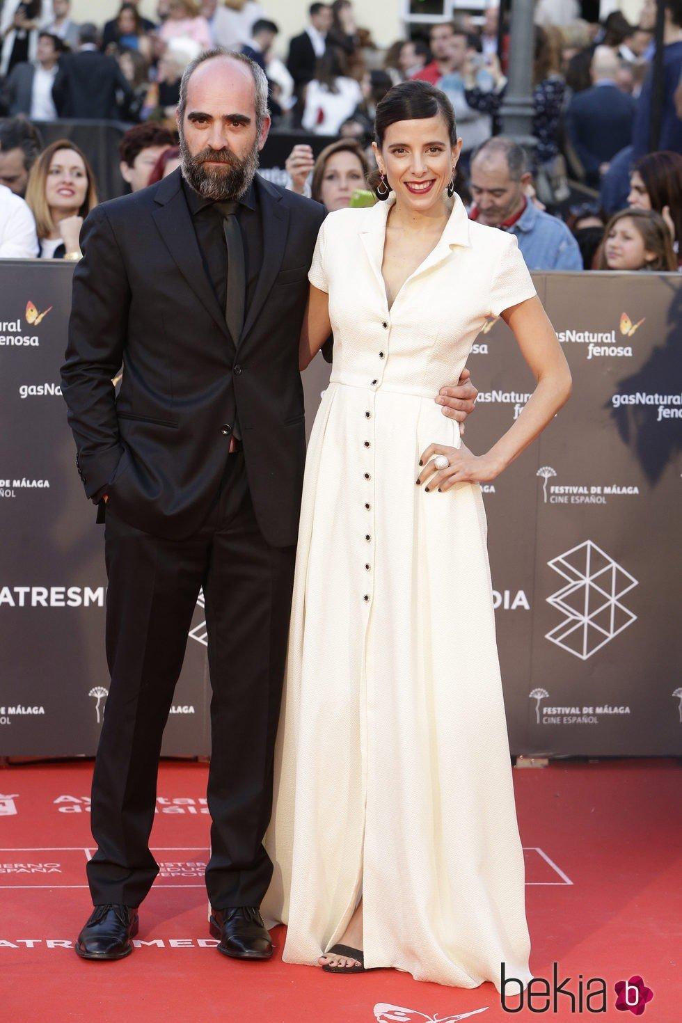 Luis Tosar y María Luisa Mayol en la gala de inauguración del Festival de Cine de Málaga 2016