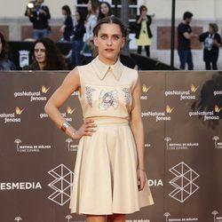 María León en la entrega del Premio Málaga Sur en el Festival de Málaga 2016