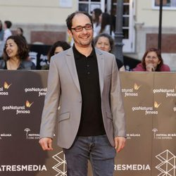 Jordi Sánchez en la entrega del Premio Málaga Sur en el Festival de Málaga 2016