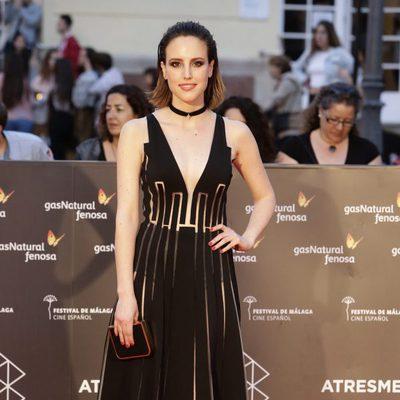 Natalia de Molina en la entrega del Premio Málaga Sur en el Festival de Málaga 2016