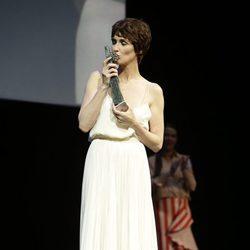 Paz Vega recoge el Premio Málaga Sur en el Festival de Málaga 2016