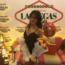 Maite Galdeano celebra su cumpleaños en el bingo