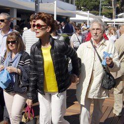 Antonia Dell'Atte en la final del Conde de Godó 2016