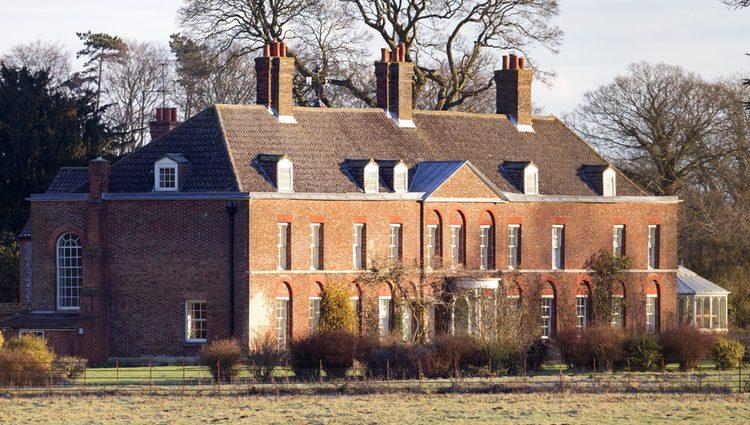 Casa de Anmer Hall de los Duques de Cambridge