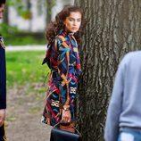 Irina Shayk durante una sesión de fotos para Vogue en Nueva York