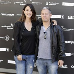 Bárbara Goenaga y David Cánovas en el Festival de Málaga 2016