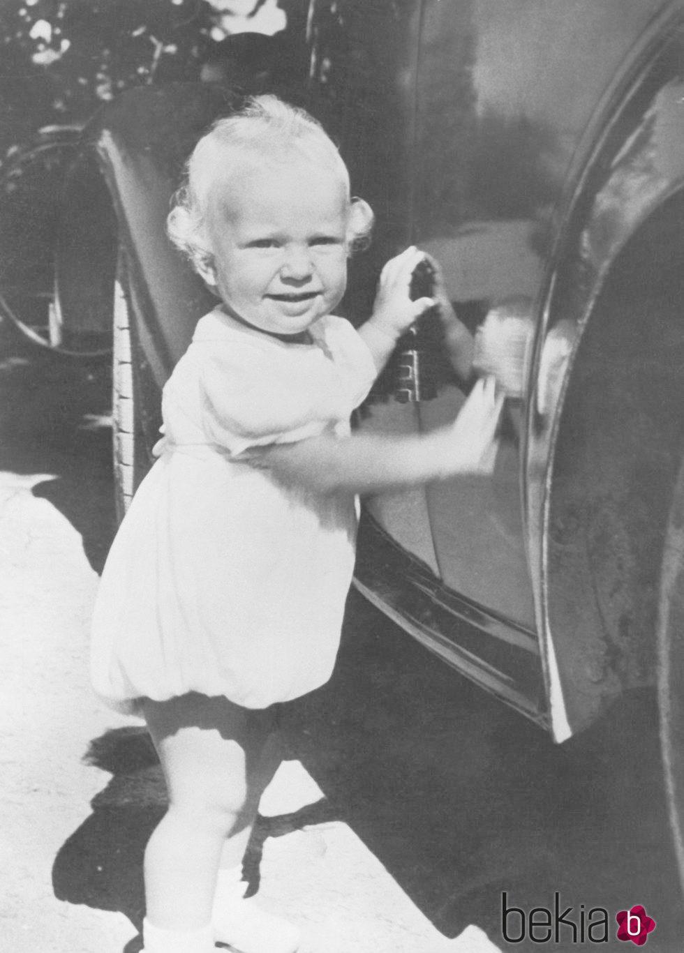 Carlos Gustavo de Suecia de niño