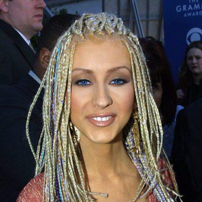 Christina Aguilera en 43rd Annual Grammy Awards en 2001