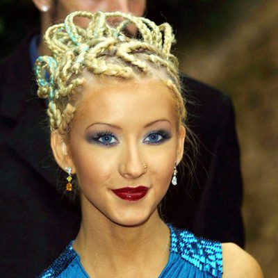 Christina Aguilera en World Music Awards en 2001