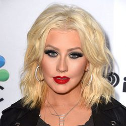 Christina Aguilera en  2015 NBC\'s \'The Voice\' Season 8 Red Carpet