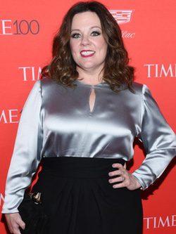 Melissa McCarthy en la fiesta organizada por la revista Time en Nueva York