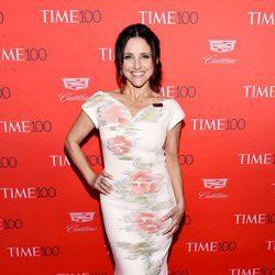Julia Louis-Dreyfus  en la fiesta organizada por la revista Time en Nueva York