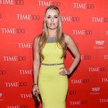 Lindsey Vonn en la fiesta organizada por la revista Time en Nueva York