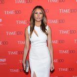 Melanie Trump en la fiesta organizada por la revista Time en Nueva York