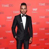 Lewis Hamilton en la fiesta organizada por la revista Time en Nueva York