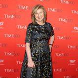 Arianna Huffington en la fiesta organizada por la revista Time en Nueva York