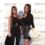 Antonella Roccuzzo y Daniella Semaan en el desfile de Rosa Clará en Barcelona Bridal Fashion Week 2016