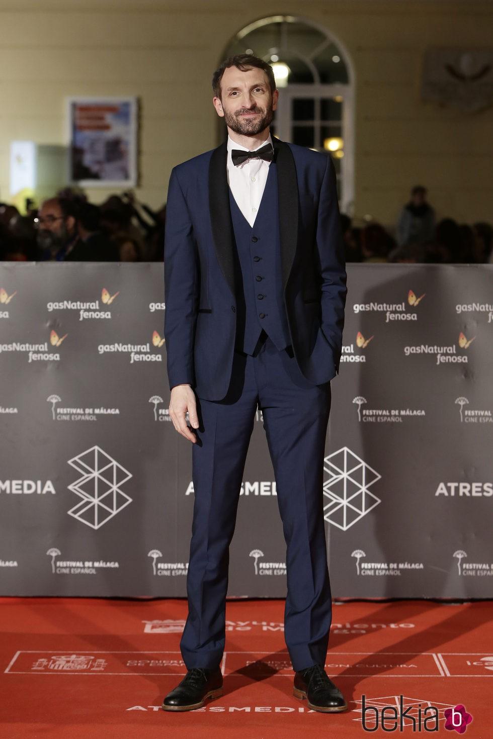 Julián Villagrán en la premiere de 'Gernika' en el Festival de Málaga 2016