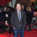 Kevin Feige en la premiere de la película 'Capitán América: Civil War' en Londres