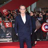 Paul Bettany en la premiere de la película 'Capitán América: Civil War' en Londres