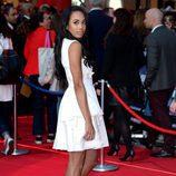 Jade Ewan en la premiere de la película 'Capitán América: Civil War' en Londres