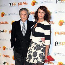 Jaime Ostos y María José Grajal en los Premios Naranja y Limón 2016