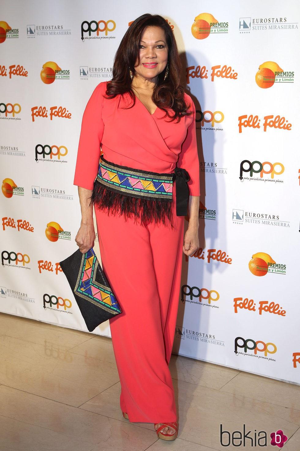 ángela Carrasco En Los Premios Naranja Y Limón 2016 Invitados A Los Premios Naranja Y Limón 2016 Foto En Bekia Actualidad