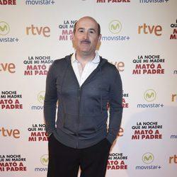 Javier Cámara en la premiere de la película 'La noche que mi madre mató a mi padre' en Madrid