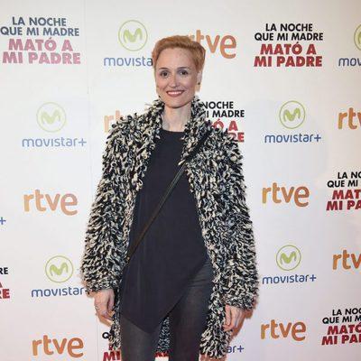 Laura Pamplona en la premiere de la película 'La noche que mi madre mató a mi padre'