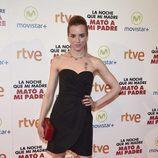 Alejandra Llorente en la premiere de la película 'La noche que mi madre mató a mi padre' en Madrid