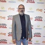 Joaquín Climent en la premiere de la película 'La noche que mi madre mató a mi padre' en Madrid