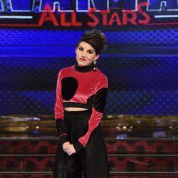 Angy Fernández en la presentación de 'Levántate All Stars'