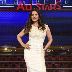 Encarna Salazar en la presentación de 'Levántate All Stars'
