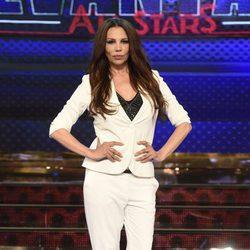 Toñi Salazar en la presentación de 'Levántate All Stars'