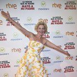 Belén Rueda en la premiere de la película 'La noche que mi madre mató a mi padre' en Madrid