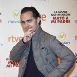 Pedro Alonso en la premiere de la película 'La noche que mi madre mató a mi padre' en Madrid