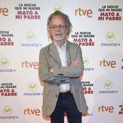 Fernando Colomo en la premiere de la película 'La noche que mi madre mató a mi padre' en Madrid