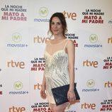 Raquel Pintado en la premiere de la película 'La noche que mi madre mató a mi padre'' en Madrid