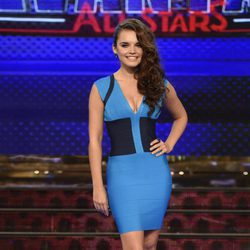 Melody en la presentación de 'Levántate All Stars'