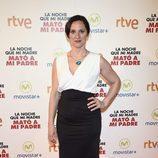 María Morales en la premiere de la película La noche que mi madre mató a mi padre'' en Madrid