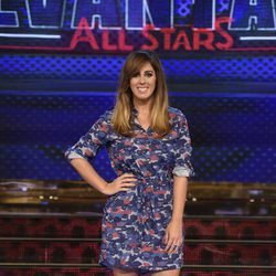 Anabel Pantoja en la presentación de 'Levántate All Stars'