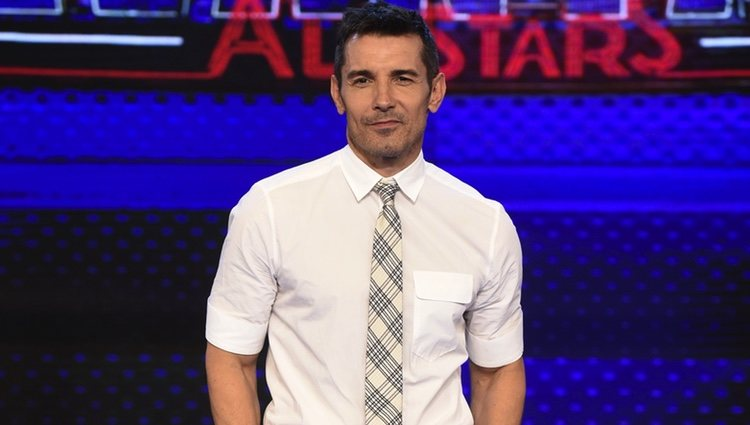 Jesús Vázquez en la presentación de 'Levántate All Stars'