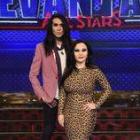 Alaska y Mario Vaquerizo en la presentación de 'Levántate All Stars'