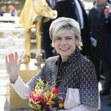 La Princesa Laurentien de Holanda acude a celebrar en el Día del Rey 2016